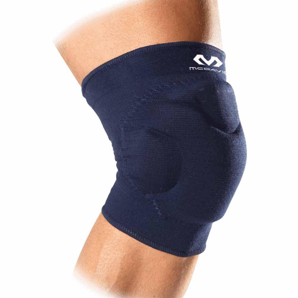Mc David Flex-force Knee Pads/pair L Navy Blue