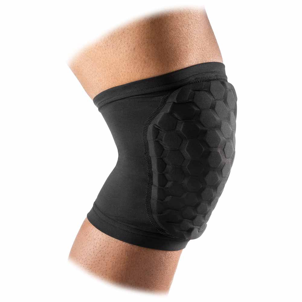 Mc David Hex Knee/elbow/shin Sleeves/pair L Black