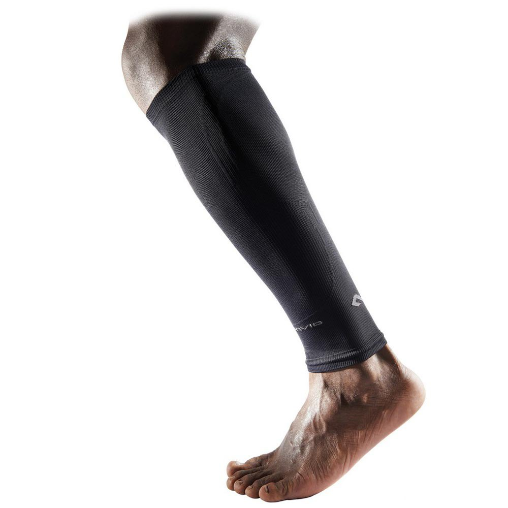 Mc David Elite Compression Calf Sleeves XL Black