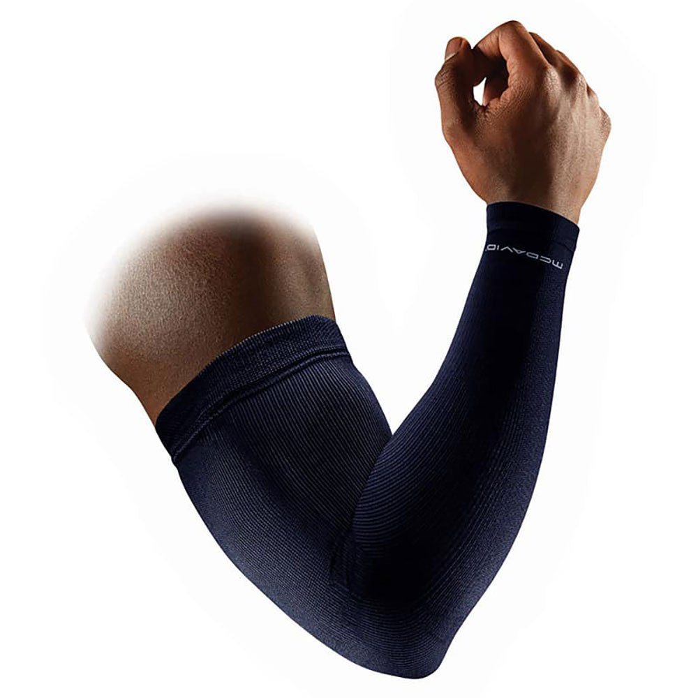 Mc David Elite Compression Arm Sleeves XL Black / Alt Blue