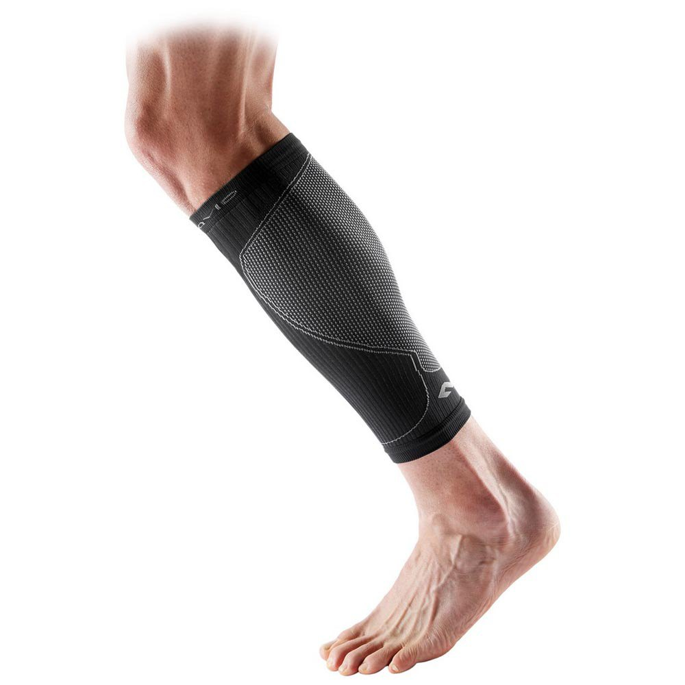 Mc David Multisports Compression Calf Sleeves S Black