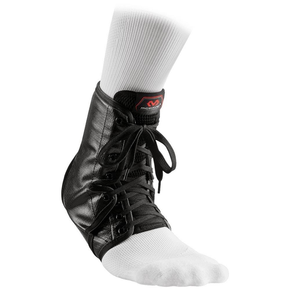 Mc David Ankle Brace/lace-up With Inserts M Black
