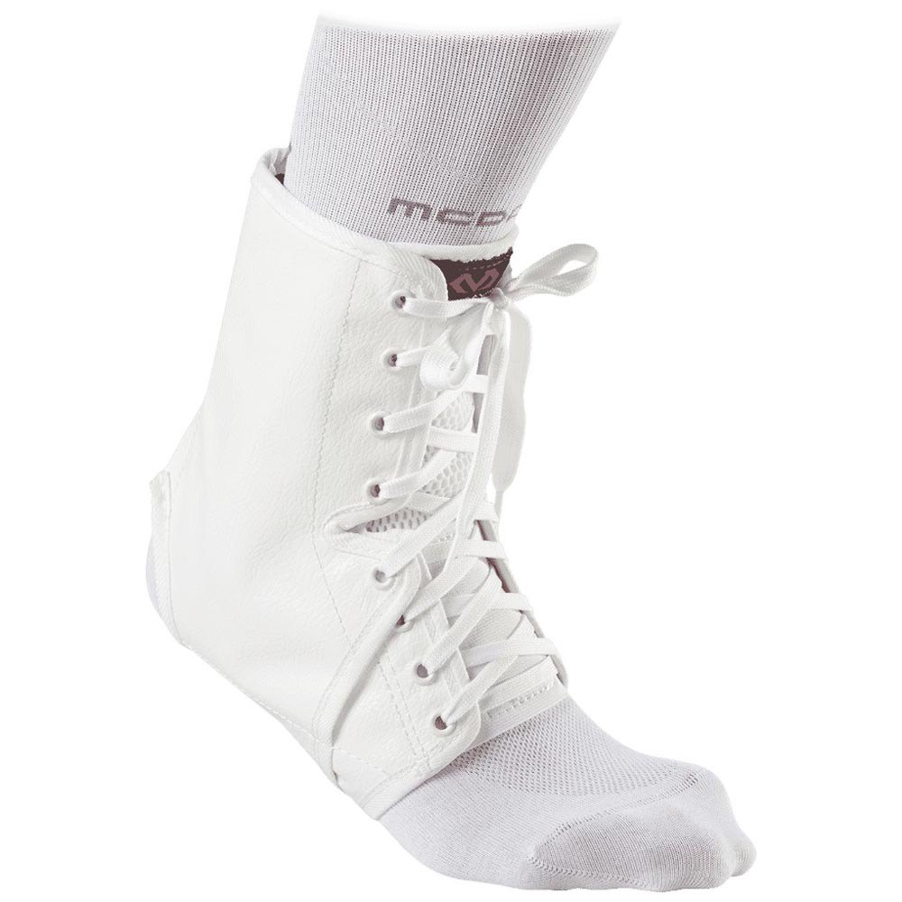 Mc David Ankle Brace/lace-up With Inserts L White