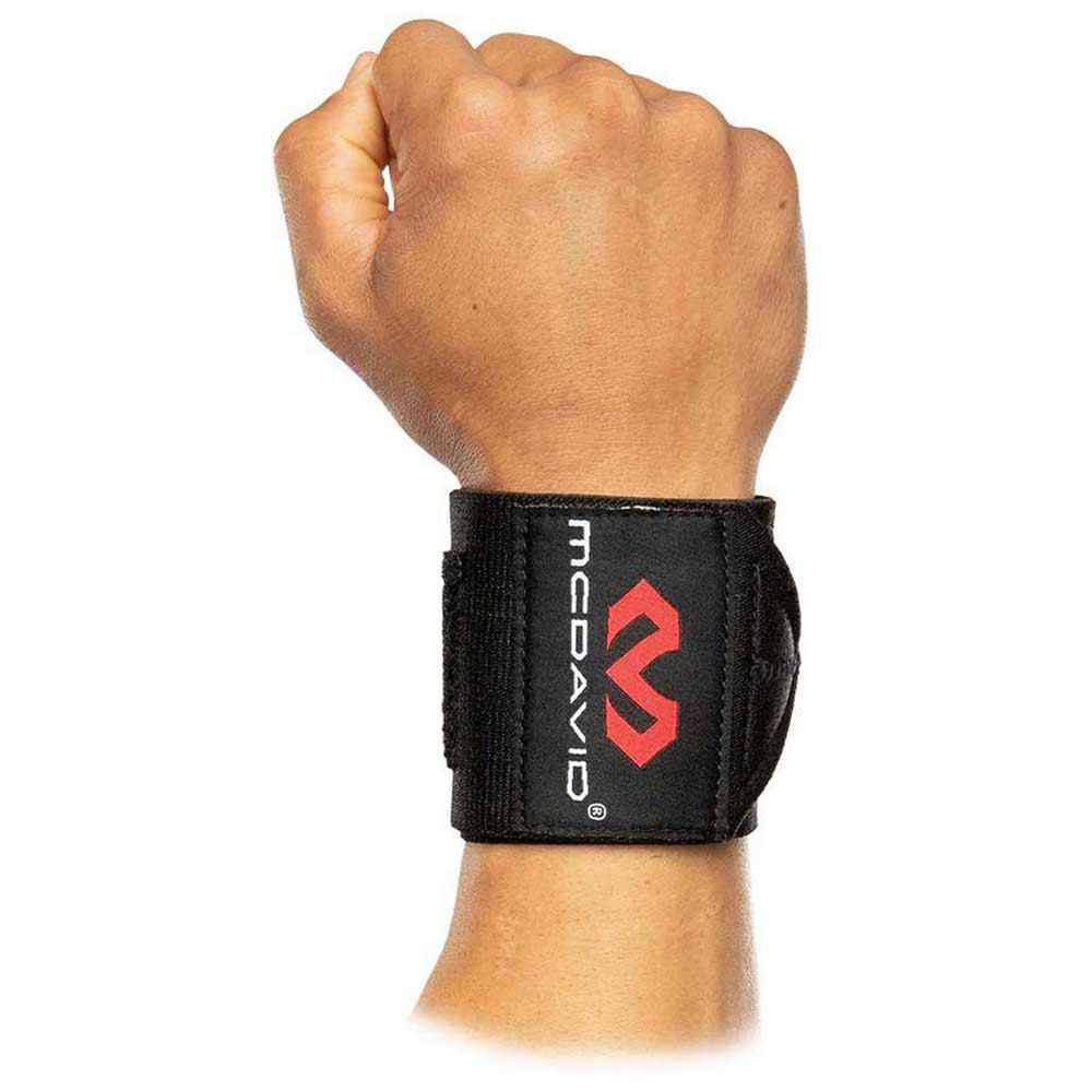 Mc David X-fitness Heavy Duty Wrist Wraps One Size Black