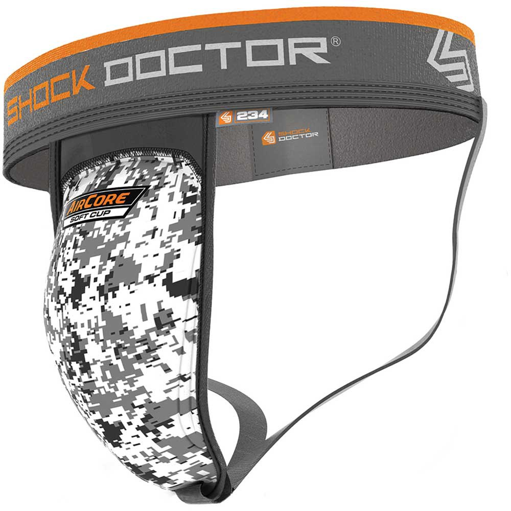 Shock Doctor Aircore Soft Cup Supporter M White