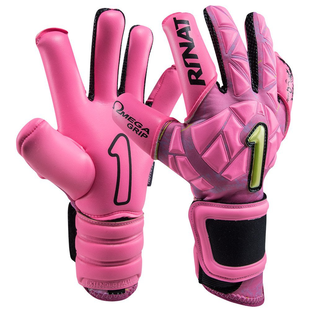 Rinat Fenix Quantum Pro Goalkeeper Gloves 11 Pink