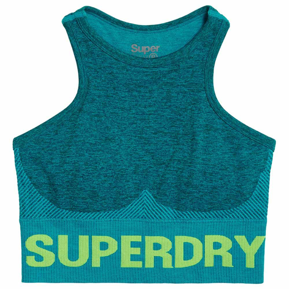 Superdry Active Seamless XS Botanical Green