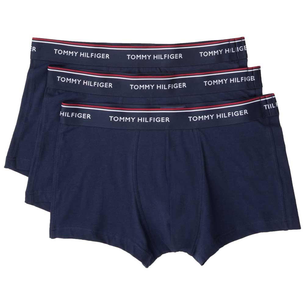 3 Pack Tommy Hilfiger Mens Cotton Stretch Boxer Brief Low Rise Trunks Underwear