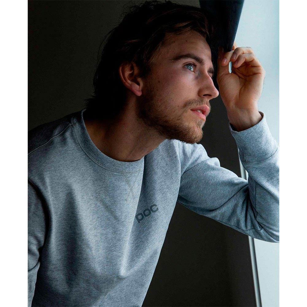 Poc Crew Sweatshirt S Grey Melange