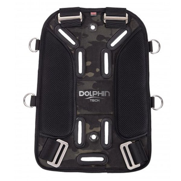 Ist Dolphin Tech Deluxe Soft Back Plate Black Einzelteile Deluxe Soft Back Plate