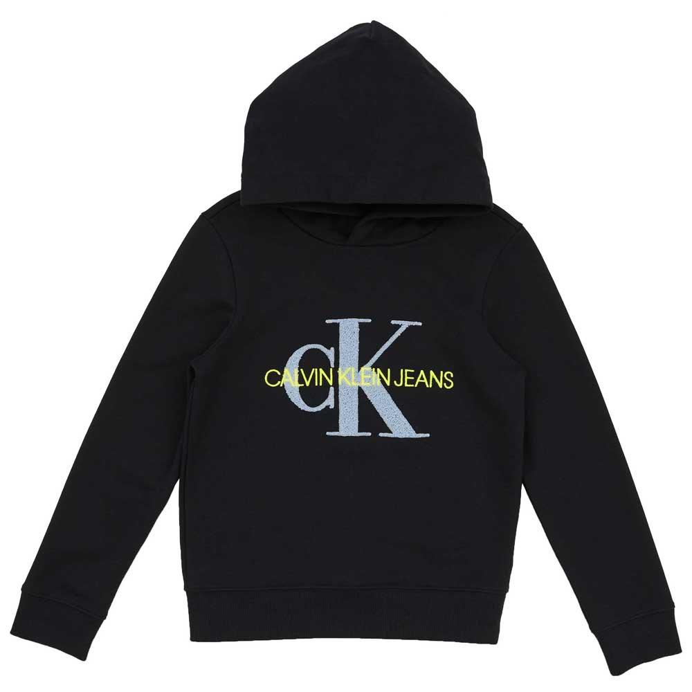 Calvin Klein Jeans Monogram Terry 4 Years Black