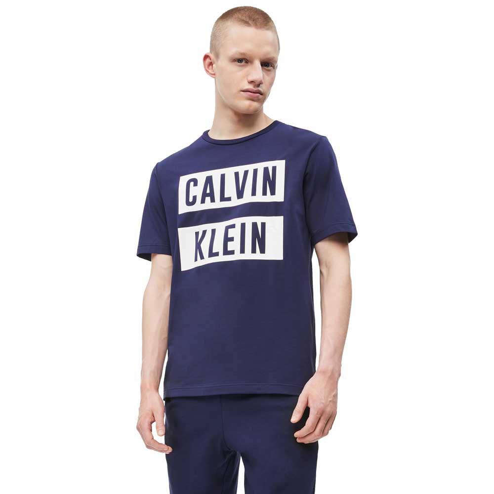 Calvin Klein Performance Logo L Night Sky / Bright White