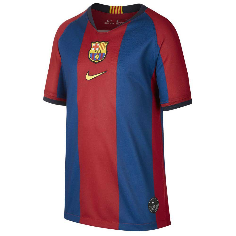 Nike Fc Barcelona Breathe Stadium Elc 19/20 Junior S Gym Blue / Canary