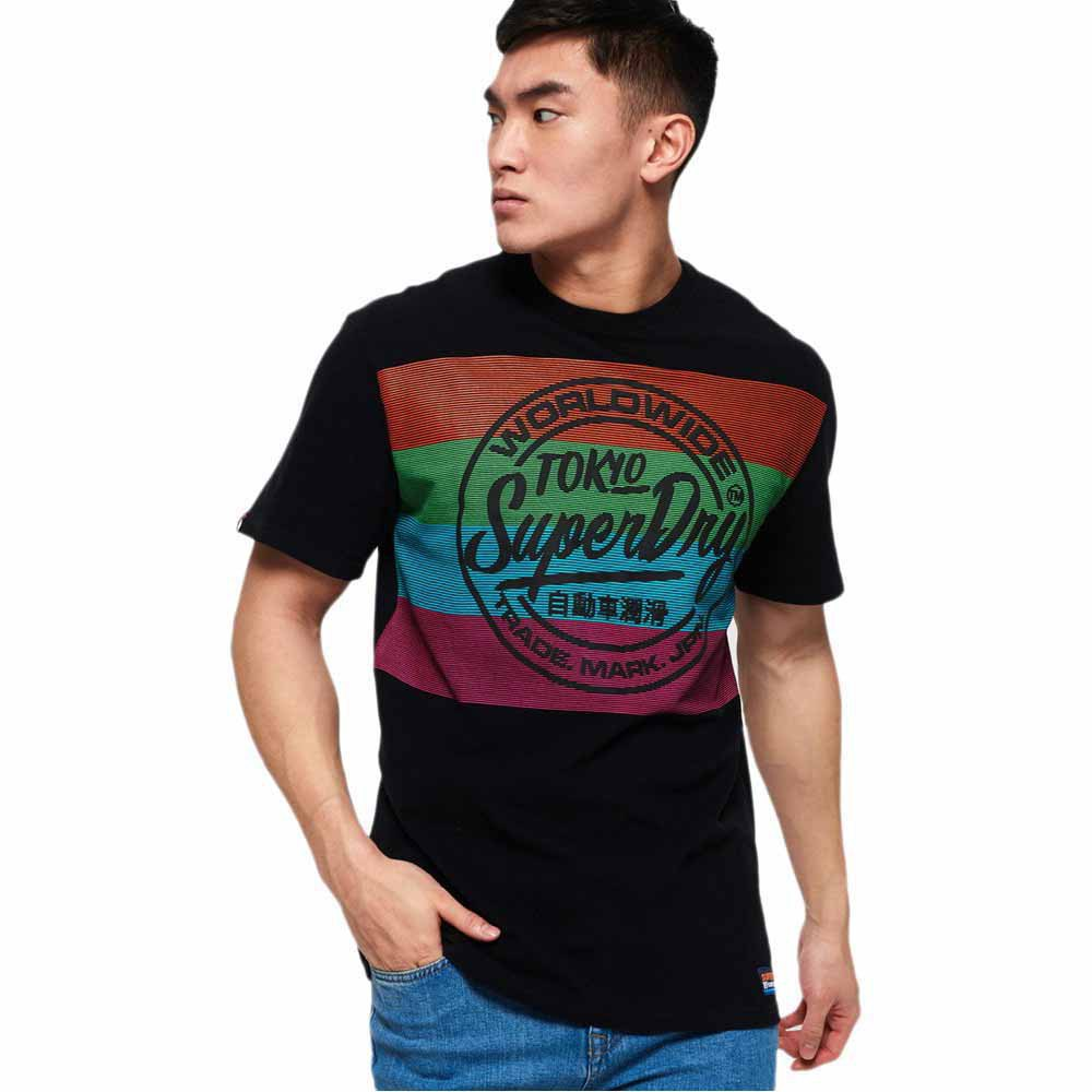 Superdry T shirt oversized Ticket Type T shirts pour Homme