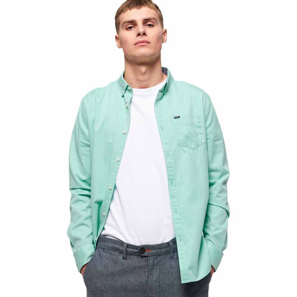 Superdry Premium University Oxford XXL Mint Sorbet