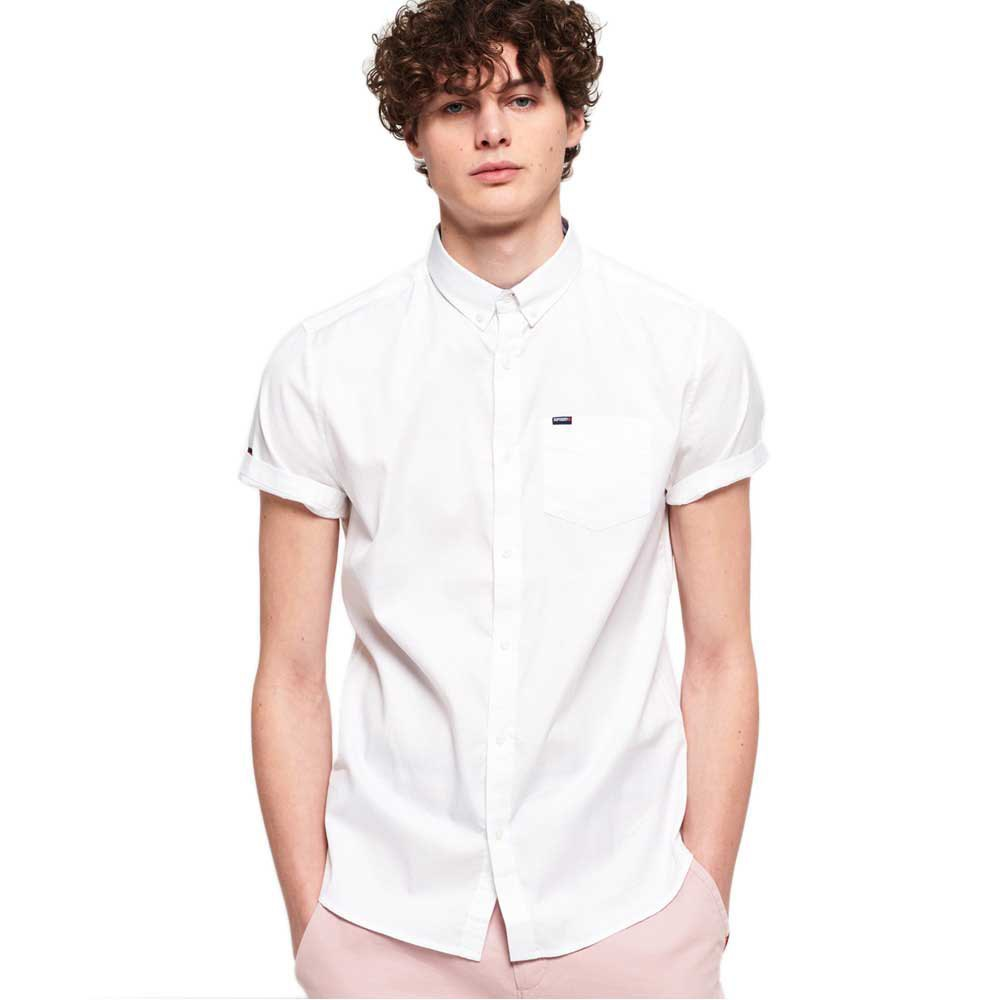 Superdry Premium University Oxford XXL Optic White