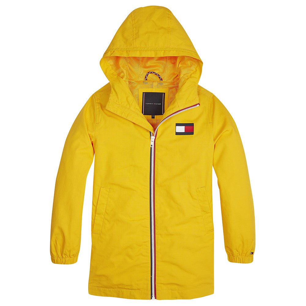 Tommy Hilfiger Kids Hooded Parka 10 Years Radiant Yellow