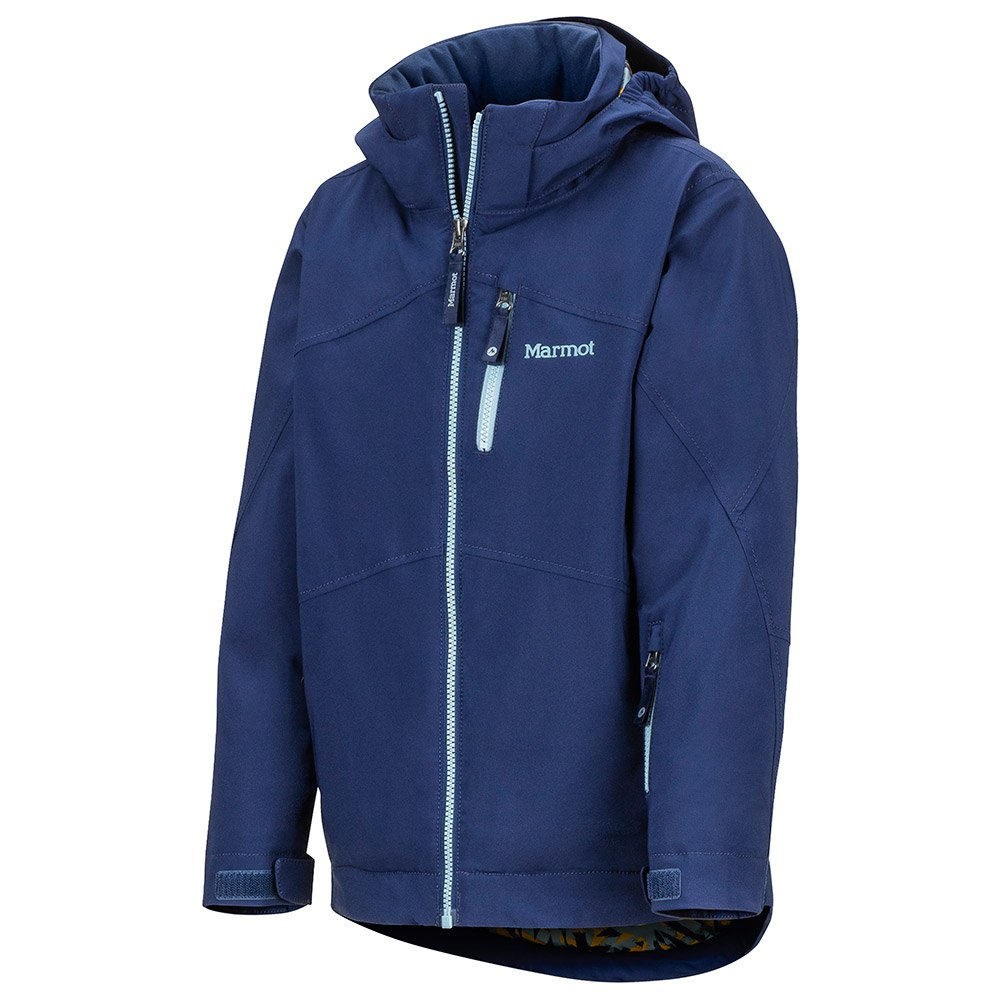 Marmot-Ripsaw-Blau-T96752-Jacken-Mann-Blau-Jacken-Marmot-skifahren Indexbild 3