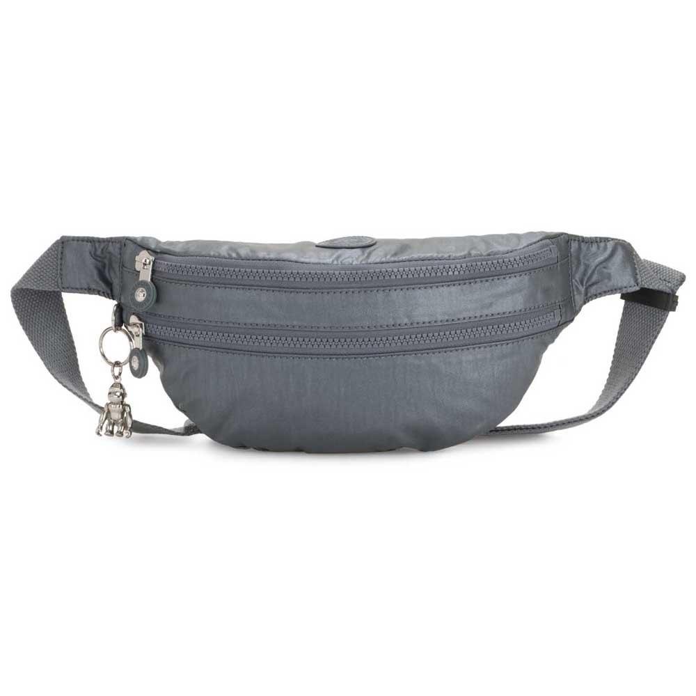 Kipling Sara One Size Steel Grey Metal