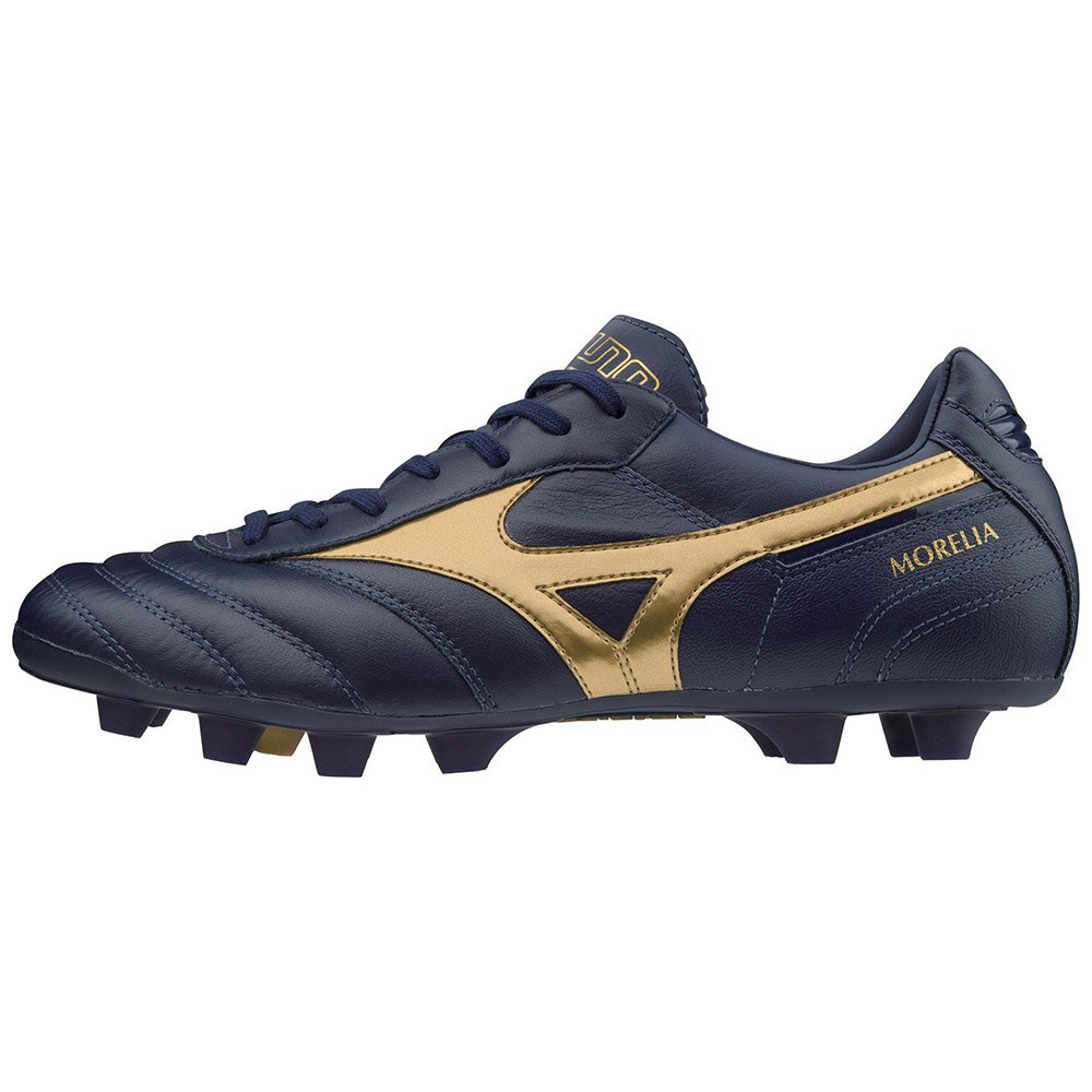 Mizuno Morelia Ii Md Football Boots EU 44 Blue Depths / Gold