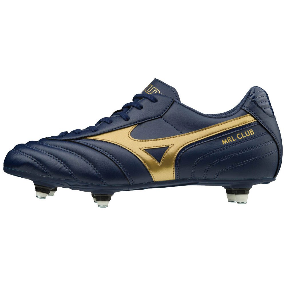Mizuno Morelia Club Si Football Boots EU 39 Blue Depths / Gold