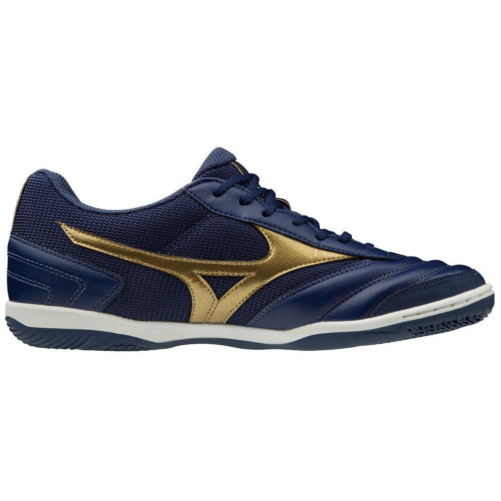 Mizuno Chaussures Football Salle Morelia Sala Club In EU 40 Blue Depths / Gold