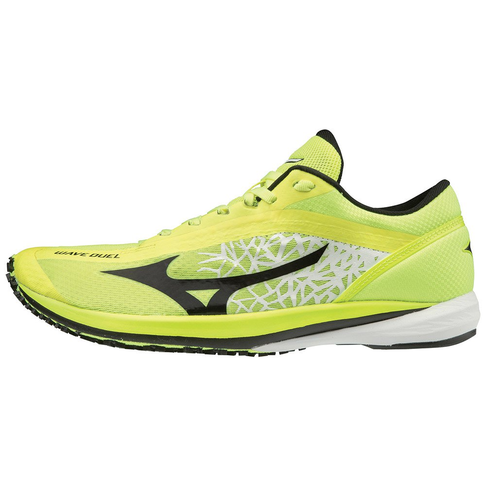 Mizuno Wave Duel EU 40 1/2 Safety Yellow / Black / Silver
