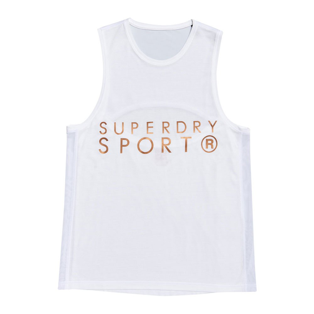 Superdry Active Studio Luxe L White