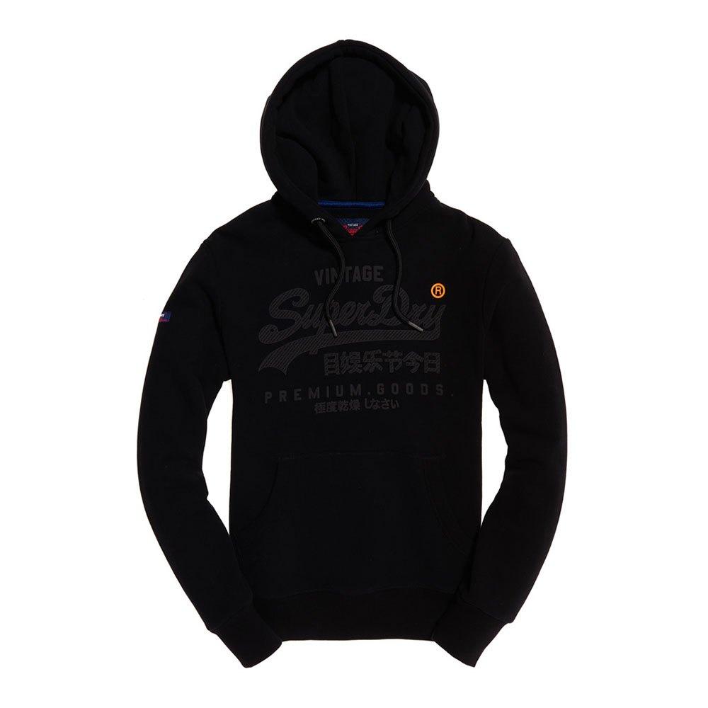 Superdry Premium Goods Tonal S Black