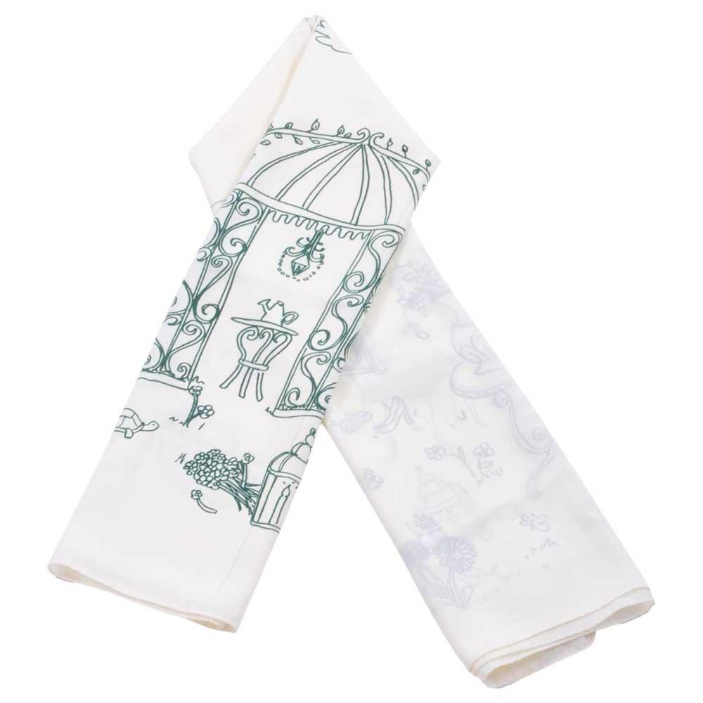 Dolce & Gabbana Printed Foulard One Size White