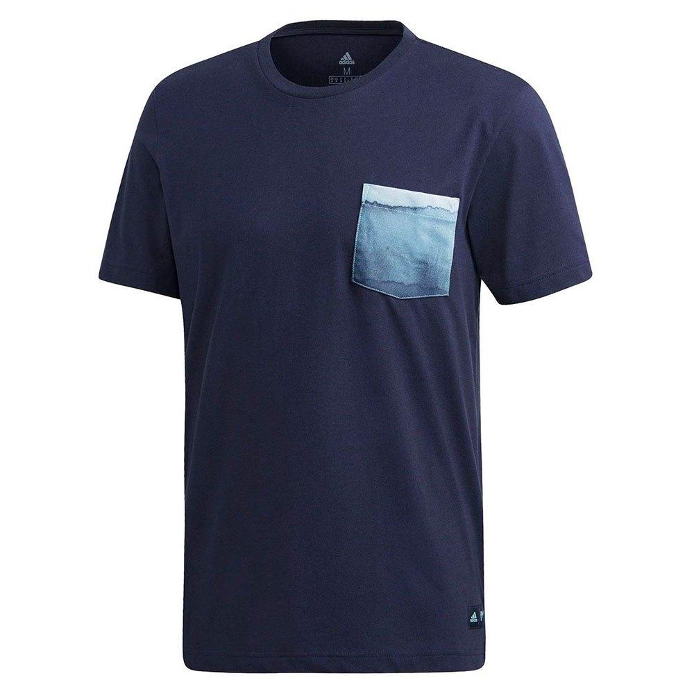 Adidas T-shirt Manche Courte Parley Pocket L Navy
