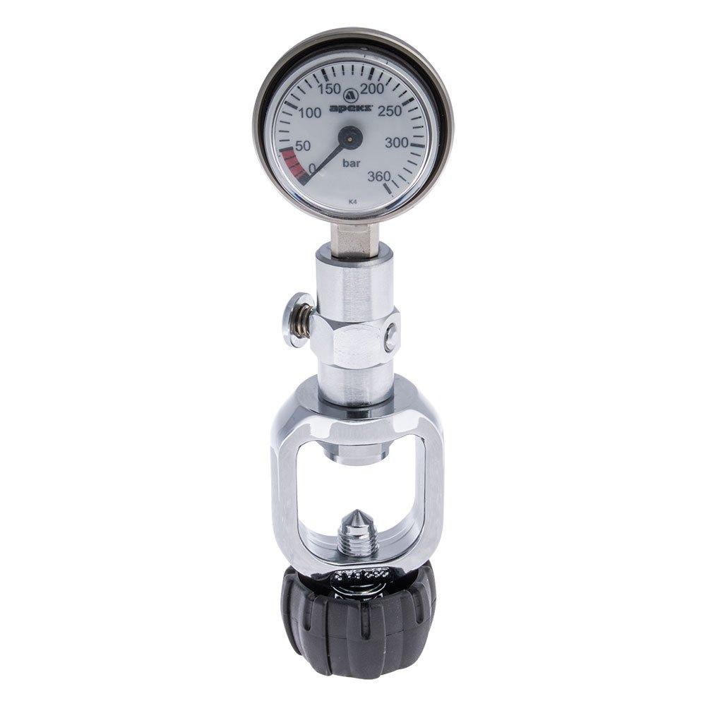 Apeks Surface Pressure Gauge M25 Yoke Manometer/Druckmesser Surface Pressure Gauge M25
