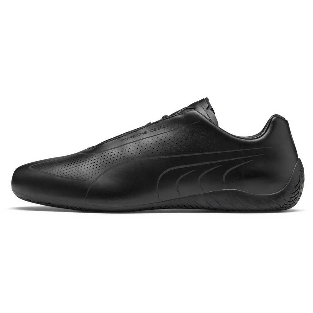 Details zu Puma Select Porsche Design Speedcat Lux Schwarz T89219 Sneakers Mann Schwarz
