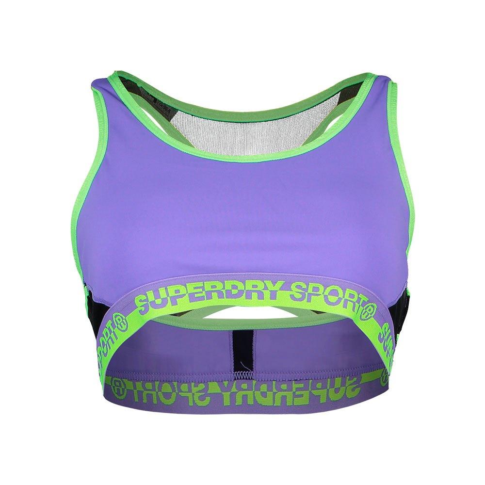 Superdry Core Layer Bra L Purple Vibe