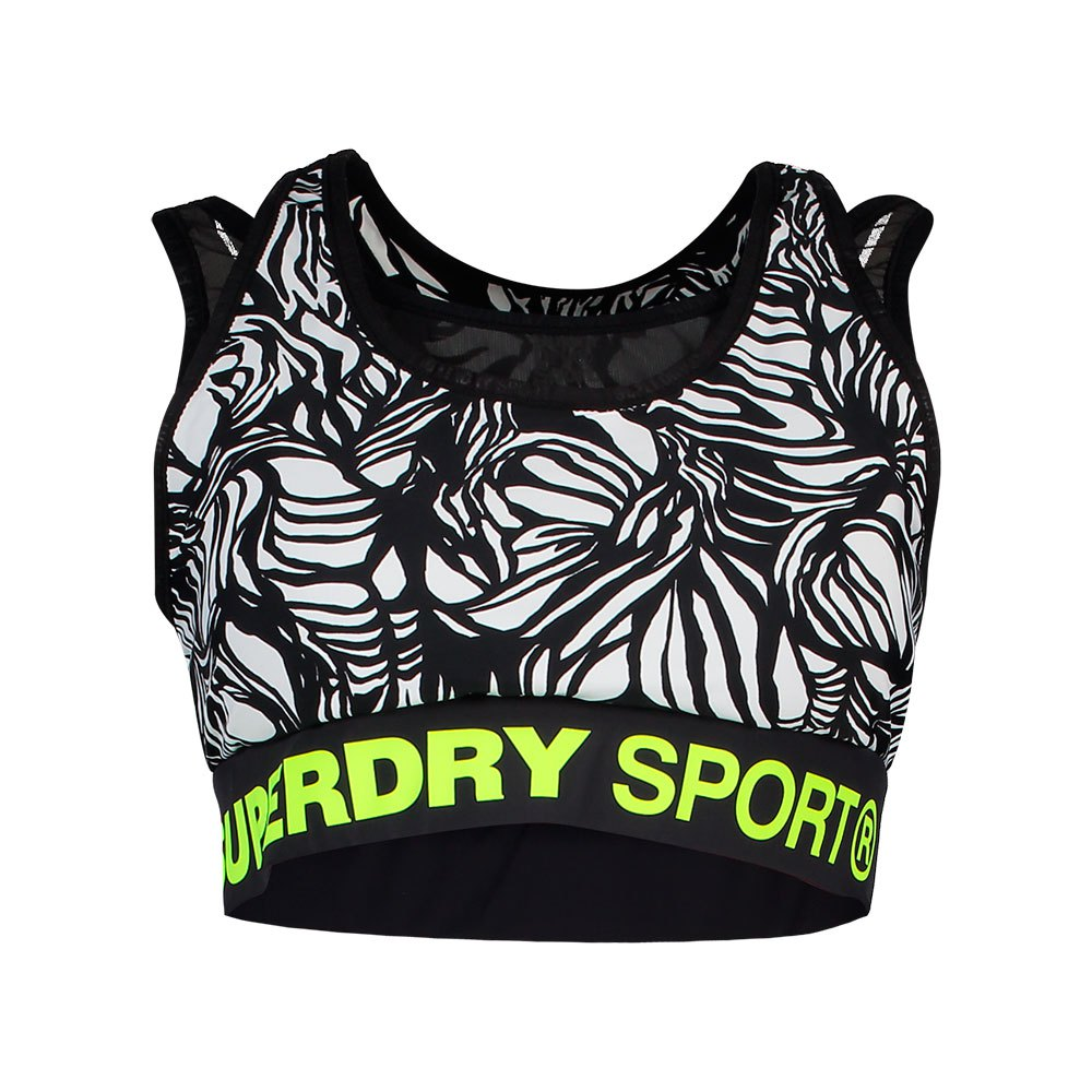 Superdry Active Layer XS Tilly Tiger Print
