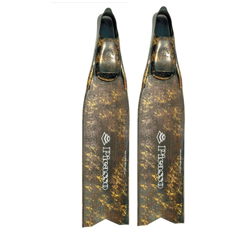 Picasso Ultimate Carbon Spear Fishing Flossen EU 40-42 Brown Camo Geschlossene Flossen Ultimate Carbon Spear Fishing Flossen