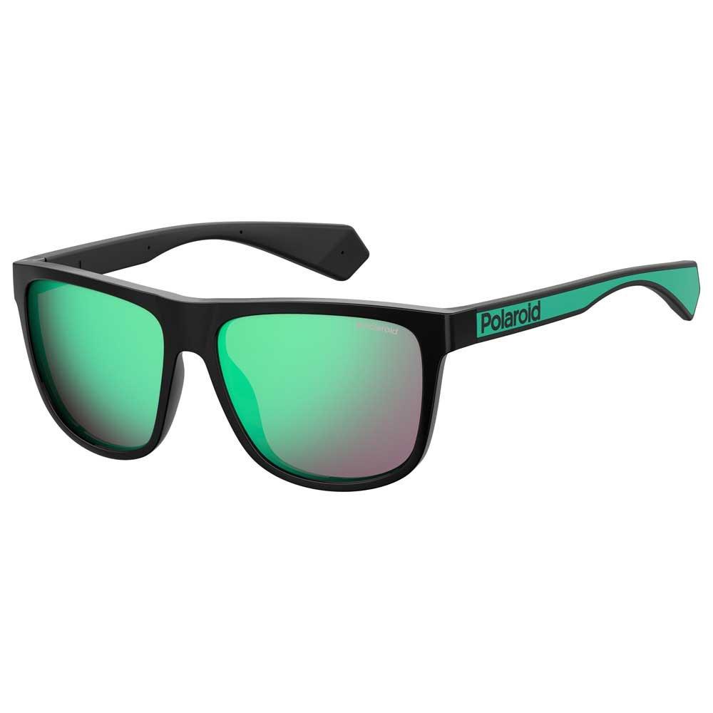 Polaroid Pld 6062/s Green Mirror Polarized - Black / Green Black / Green