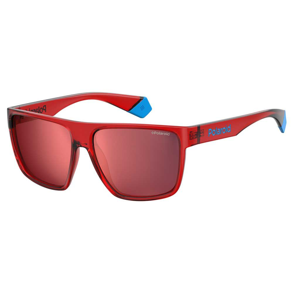 Polaroid Pls 6076/s Red Mirror Polarized - Red Red
