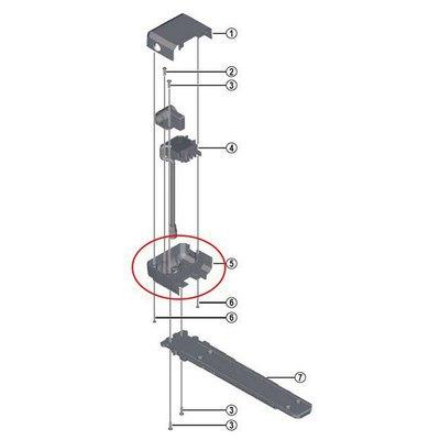 Shimano Bottom Cover Battery Support E-6000 Axa One Size Black