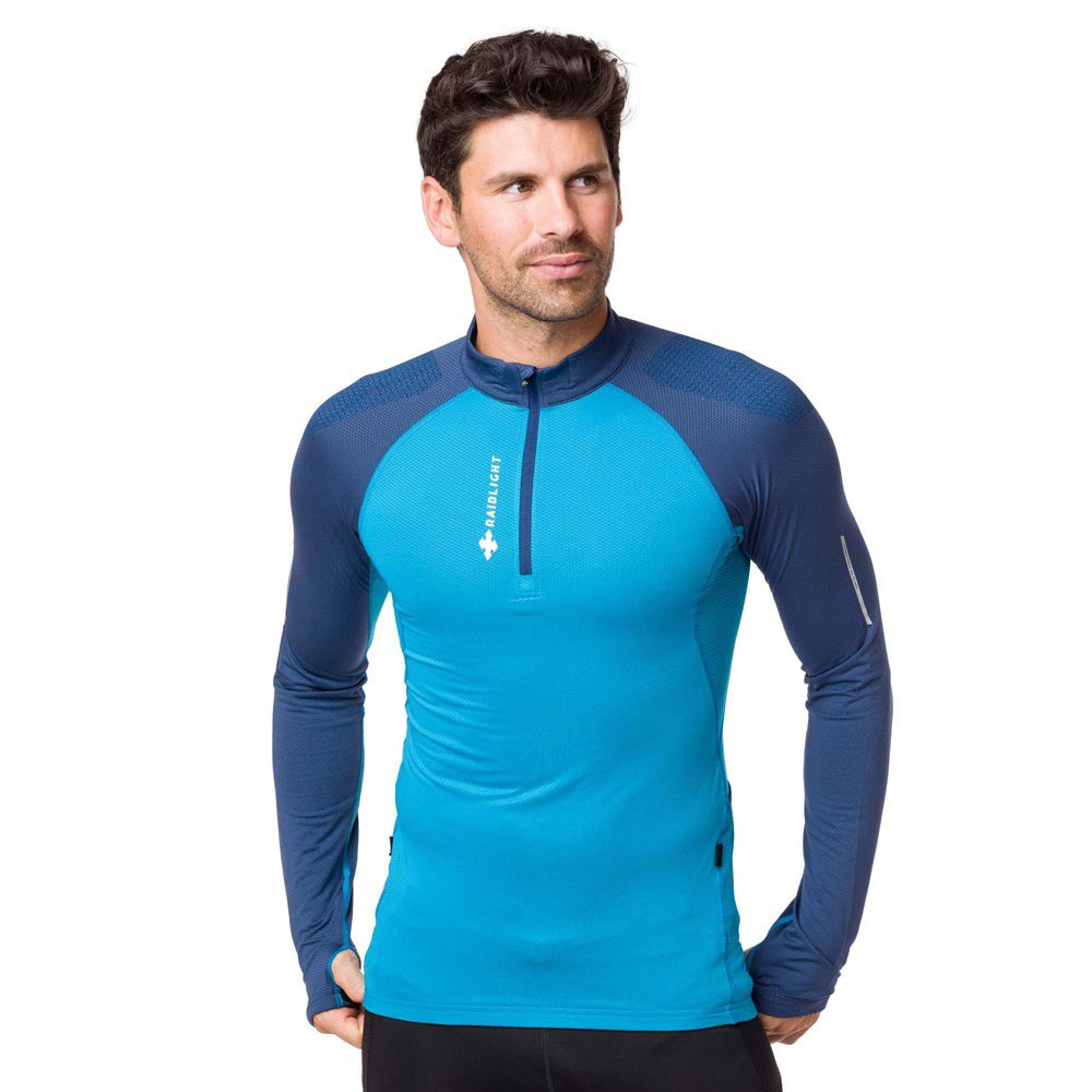 Raidlight Performer Top L Blue Navy / Blue