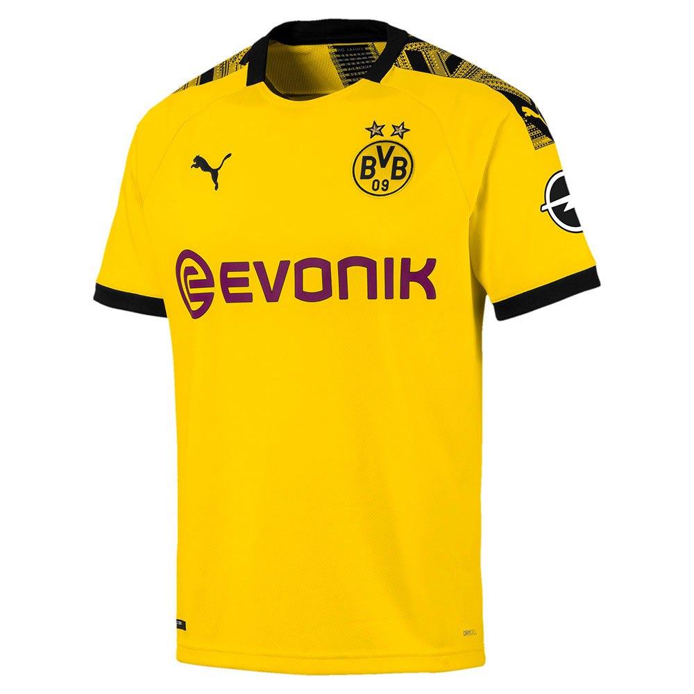 Puma Borussia Dortmund Home 19/20 XXL Cyber Yellow / Puma Black