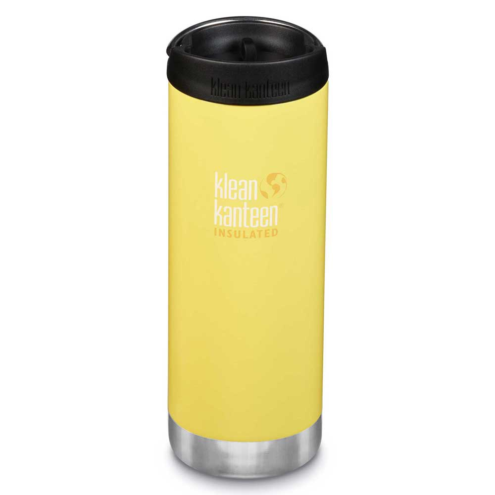 Klean Kanteen Insulated Tkwide 473ml Coffee Cap One Size Buttercup