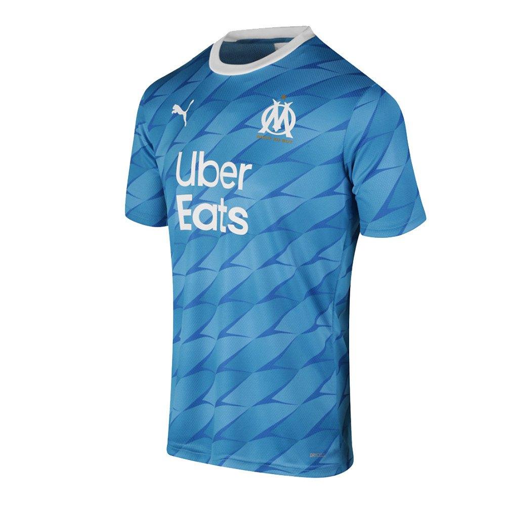 Puma Olympique Marseille Away 19/20 L Azure Blue / Puma White