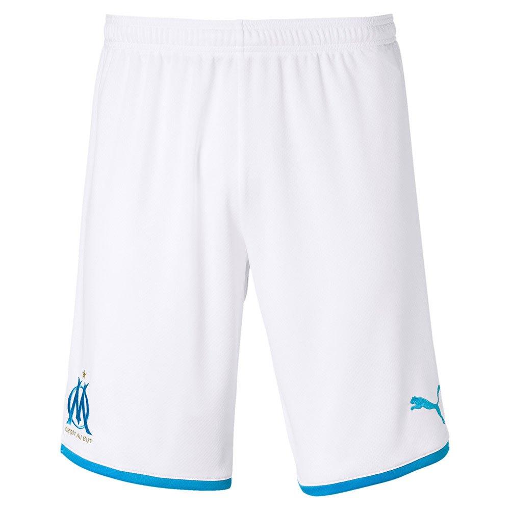 Puma Olympique Marseille Home 19/20 XL Puma White / Azure Blue