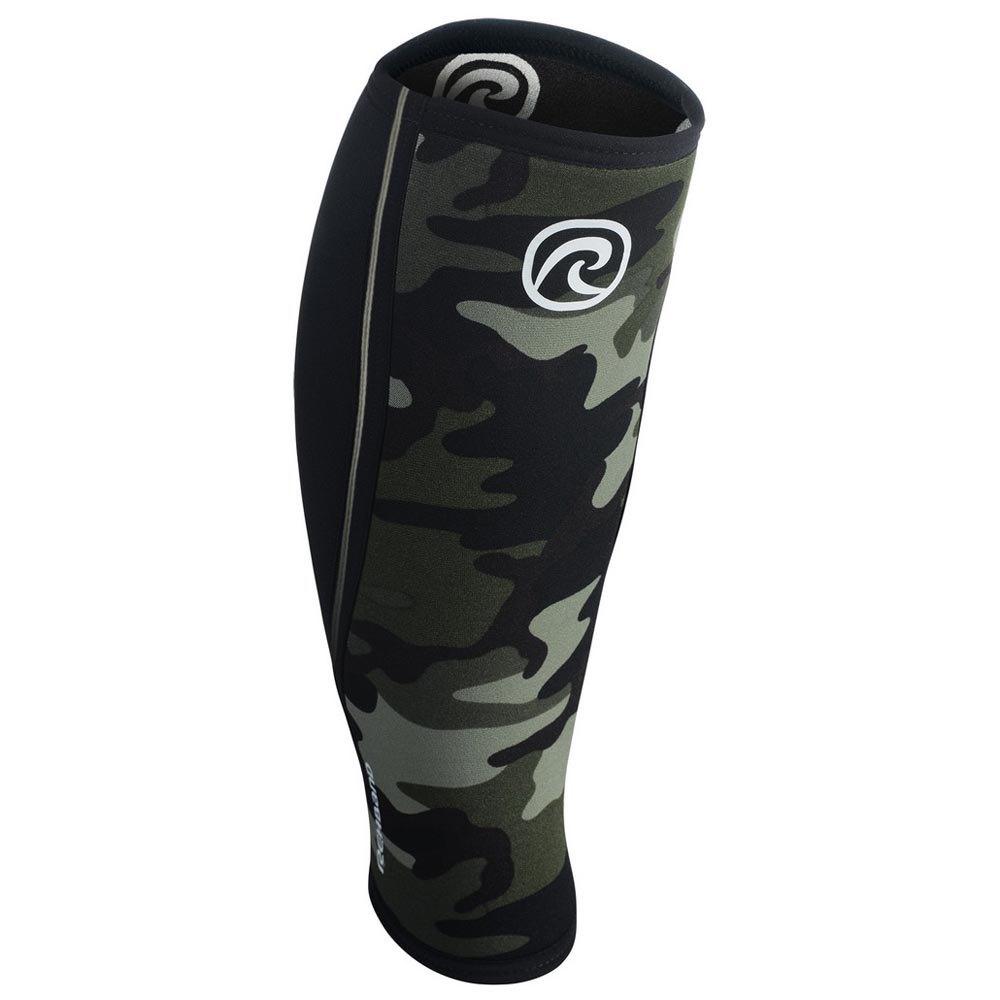Rehband Rx Shin&calf Sleeve 5 Mm M Camo / Black