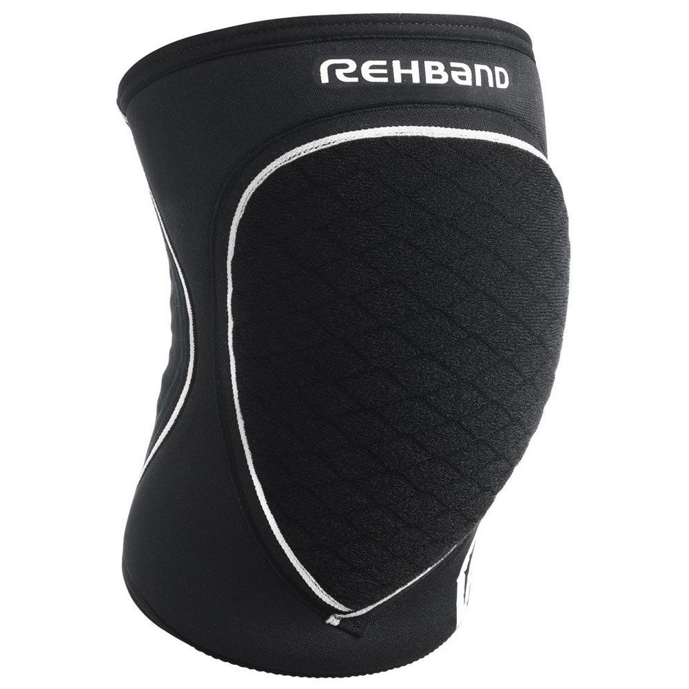 Rehband Prn Knee Pad Junior 5 Mm Pair L Black