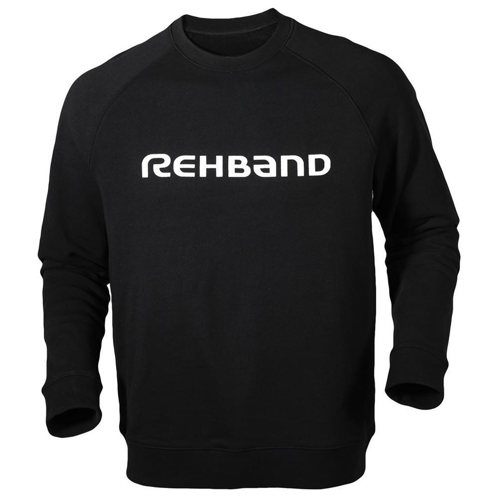 Rehband Sweatshirt Logo L Black