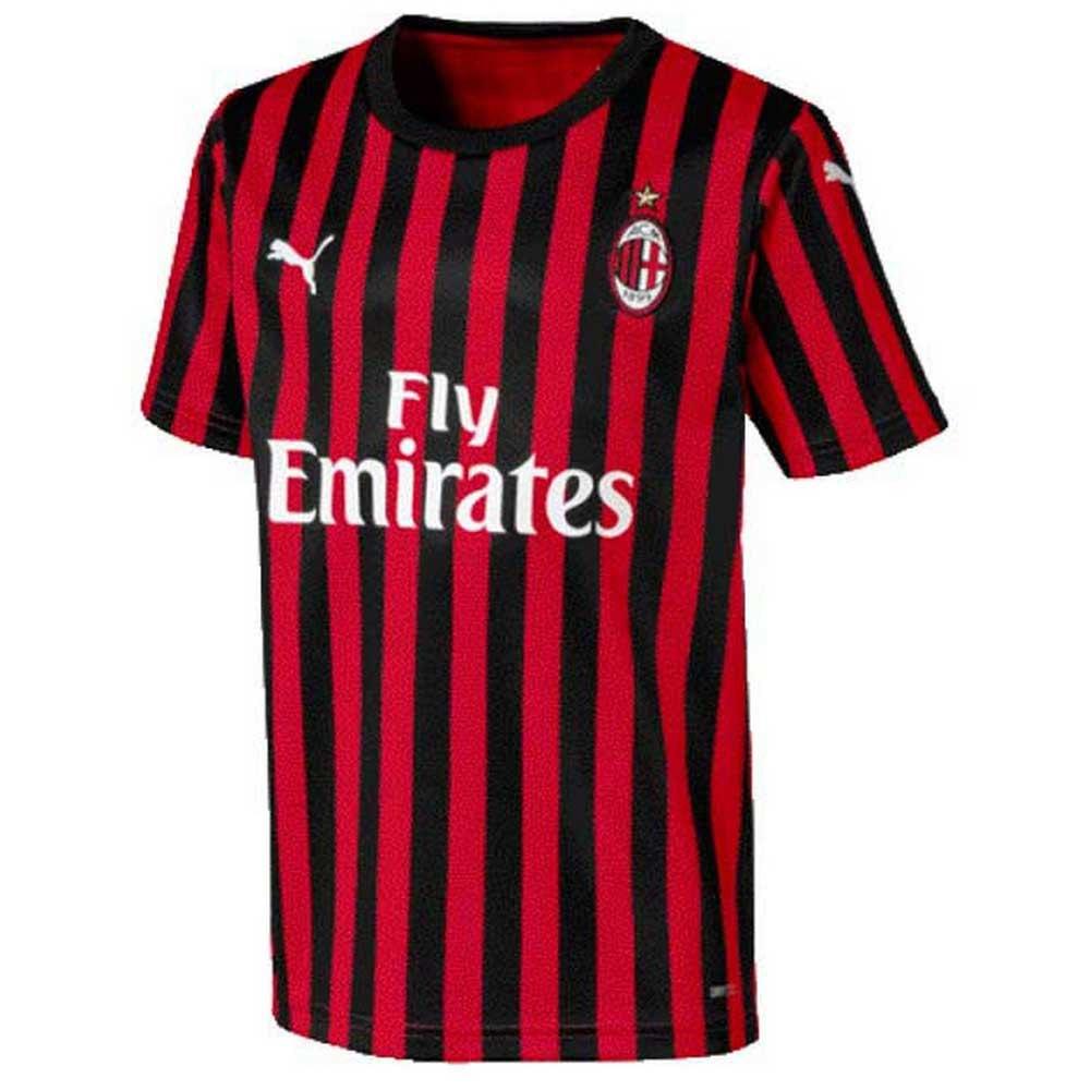 Puma Ac Milan Home 19/20 Junior 152 cm Tango Red / Puma Black