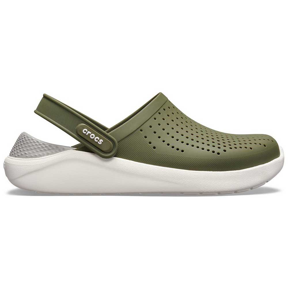 Clogs Crocs Crocs Literide Clog Green White T28091// Clogs Male Green White