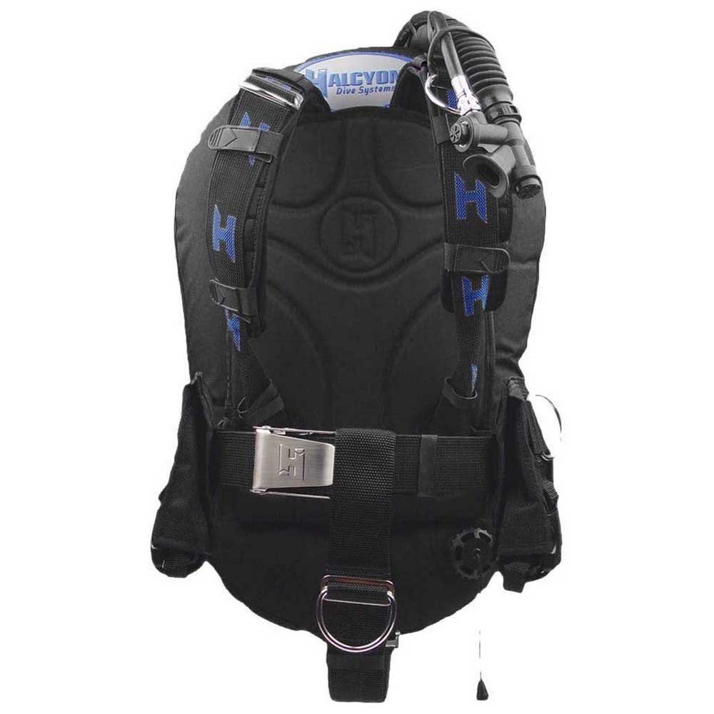 Halcyon Infinity 40 Standard Al Backplate Convertible Sta Tarierjacket Black Westen Infinity 40 Standard Al Backplate Convertible Sta Tarierjacket
